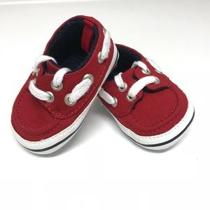 Cute Red Gymboree Shoes (Size 1)